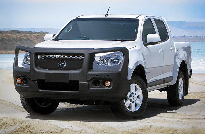 Holden Colorado 2012 - 2016 with a SmartBar bull bar