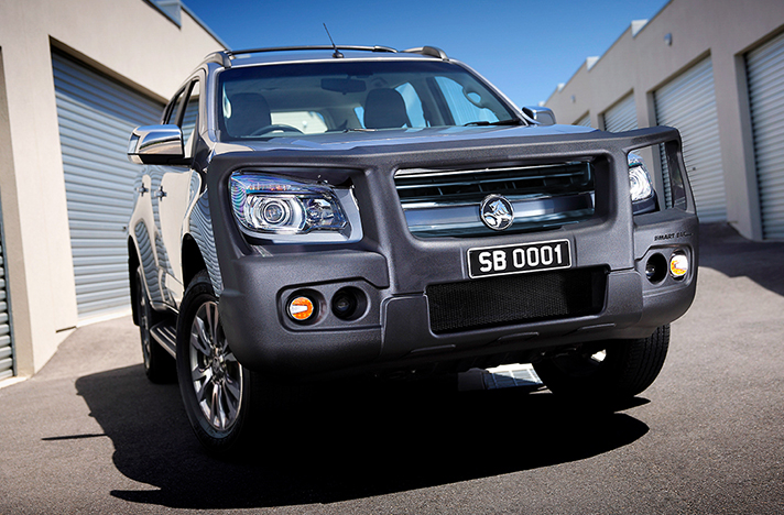 Holden Colorado Trailblazer 09-16 with a SmartBar bull bar