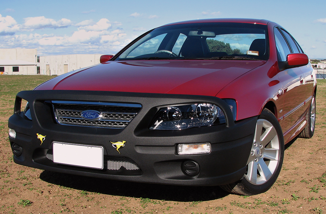 Ford Falcon BF2 and BF3 with a SmartBar bull bar