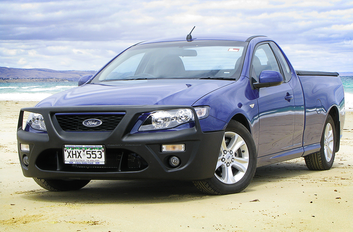 Ford Falcon FG & FG2 (05/08-12/14) SmartBar SpartanBar bull bar smaller image