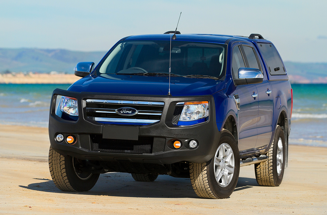 Ford Ranger PX 2011-2015 with a SmartBar bull bar