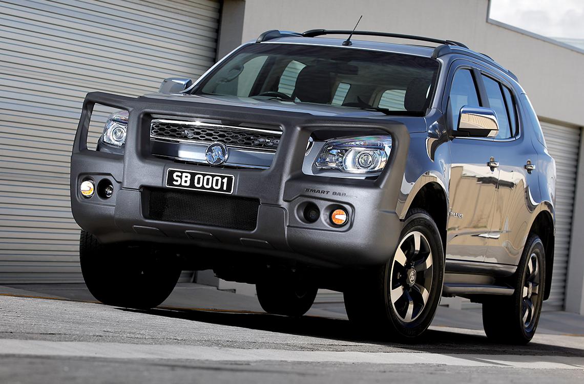 SmartBar Holden Colorado and 7 2012 to 2016 SpartanBar