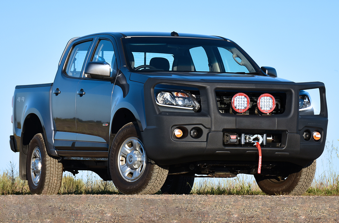 Holden Colorado and Trailblazer 2016 onwards with a SmartBar bull bar