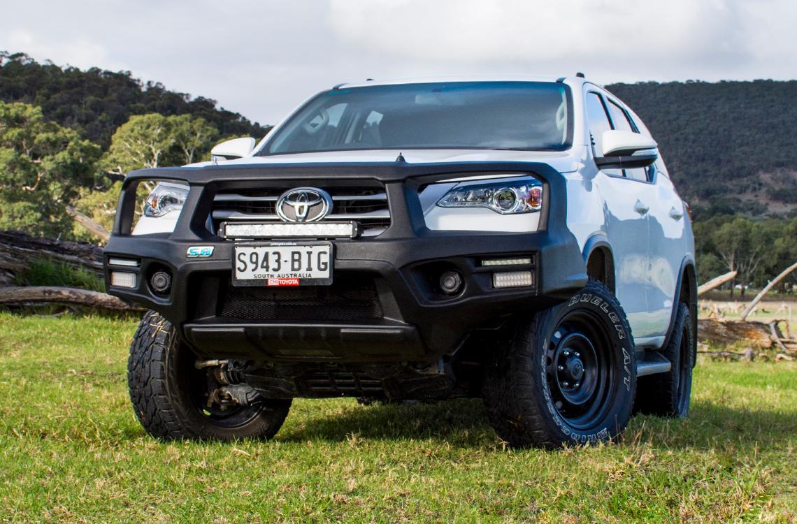 SmartBar Toyota Fortuner 2015 SpartanBar