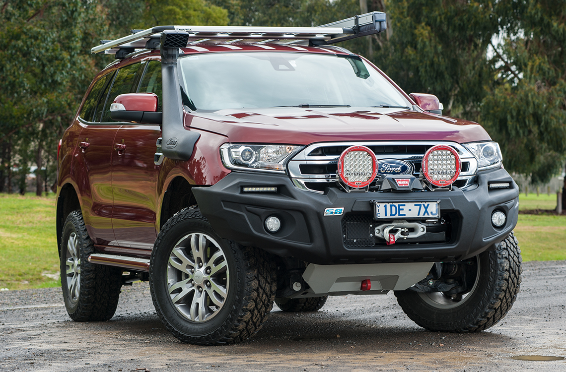 Ford Everest SmartBar StealthBar bull bar