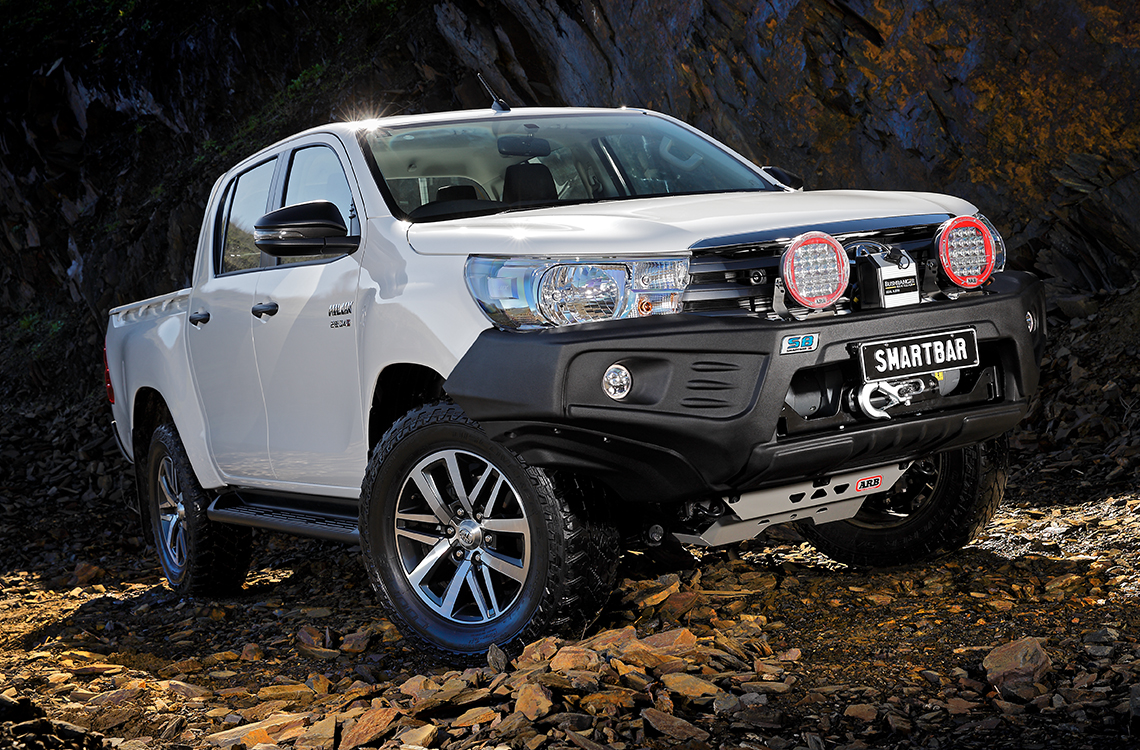 SmartBar Toyota Hilux 2015 StealthBar bull bar