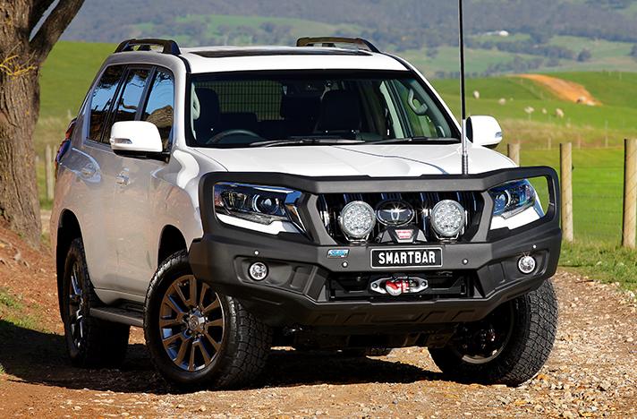 Toyota Prado 150 10-17 with a SmartBar bull bar