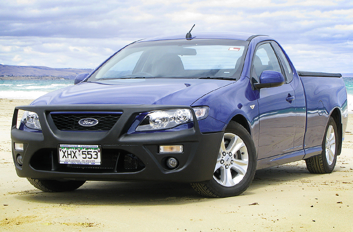 Ford Falcon FG and FG2 05-08 to 12-14 with a SmartBar bull bar