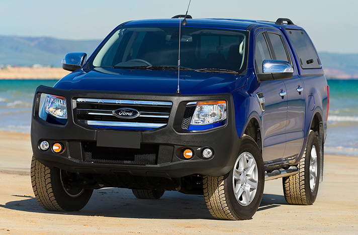 Ford Ranger PX 09-11 to 06-15 with a SmartBar bull bar