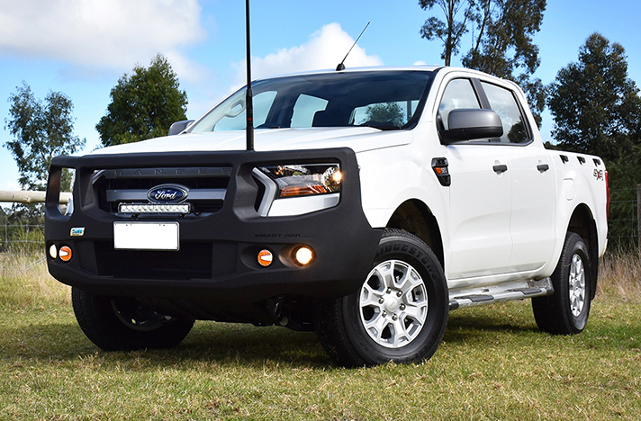 Ford Ranger PX2 07-15 to 07-18 with a SmartBar bull bar