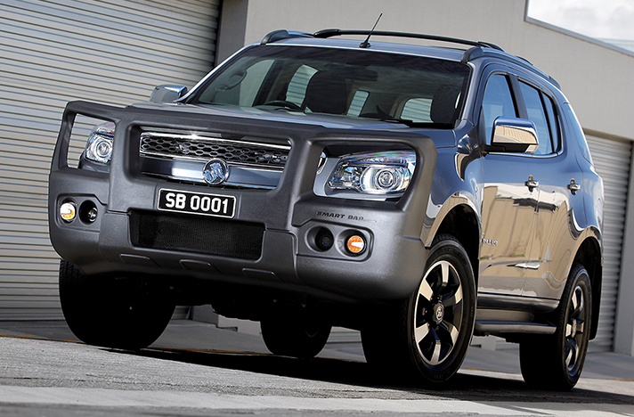 Holden Colorado 7 12-12 to 08-16 with a SmartBar bull bar