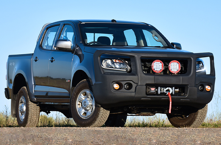 Holden Colorado RG 09-16 with a SmartBar bull bar
