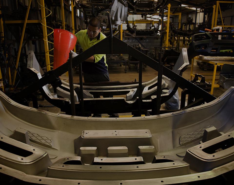 SmartBar bull bars in manufacturing
