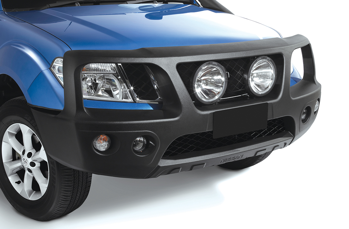 Nissan Navara Pathfinder 2010-2013 with a SmartBar bull bar