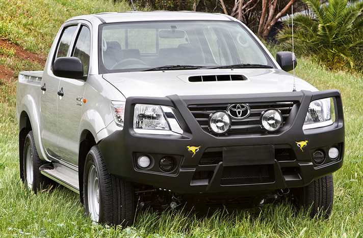 Toyota Hilux 07-11 to 08-15 with a SmartBar bull bar
