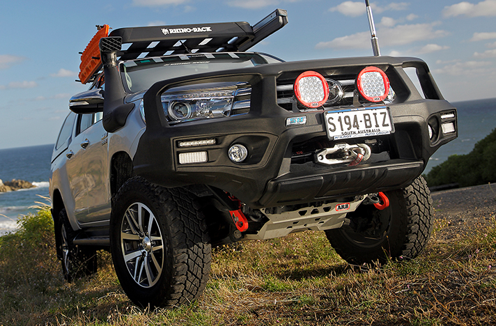 Toyota Hilux 09-15 with a SmartBar bull bar